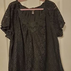❤ FREE WITH $50 PURCHASE Beautiful black lace